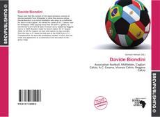 Copertina di Davide Biondini