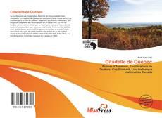 Bookcover of Citadelle de Québec