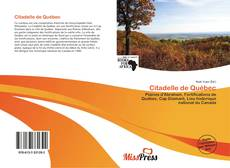 Обложка Citadelle de Québec