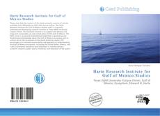 Copertina di Harte Research Institute for Gulf of Mexico Studies
