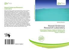 Hawaii Undersea Research Laboratory kitap kapağı