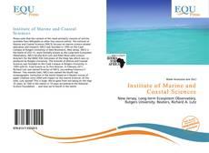 Couverture de Institute of Marine and Coastal Sciences