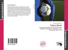 Felice Borel kitap kapağı