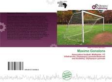 Capa do livro de Maxime Gonalons