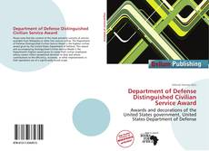 Portada del libro de Department of Defense Distinguished Civilian Service Award