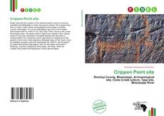 Bookcover of Crippen Point site