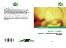 Bookcover of August Leskien