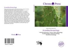 Bookcover of Acanthochronology