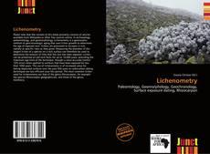 Bookcover of Lichenometry