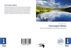 Обложка Carsington Water