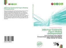 2003 Four Continents Figure Skating Championships kitap kapağı