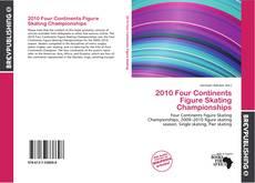 2010 Four Continents Figure Skating Championships kitap kapağı