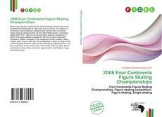 2008 Four Continents Figure Skating Championships kitap kapağı