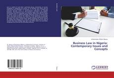 Bookcover of Business Law in Nigeria: Contemporary Issues and Concepts