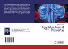 Buchcover von Hemodialysis: Impact of Patient Counseling on Quality of Life