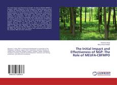 Copertina di The Initial Impact and Effectiveness of NGP: The Role of MEUFA-CBFMPO