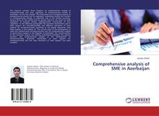 Bookcover of Comprehensive analysis of SME in Azerbaijan