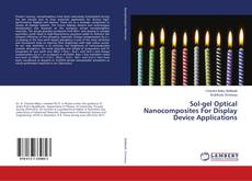 Buchcover von Sol-gel Optical Nanocomposites For Display Device Applications