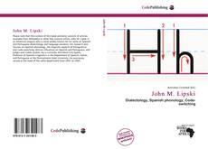 Bookcover of John M. Lipski