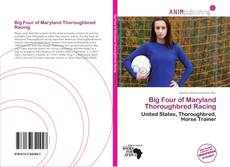 Capa do livro de Big Four of Maryland Thoroughbred Racing