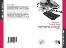 Capa do livro de Callum Blue