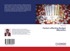 Bookcover of Factors affecting Budget Allocation