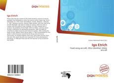 Buchcover von Igo Etrich