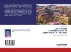 Capa do livro de Geochemical Characterization of Sediments of Playa Cores