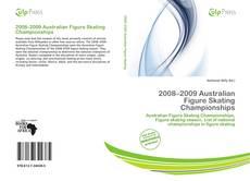 Capa do livro de 2008–2009 Australian Figure Skating Championships