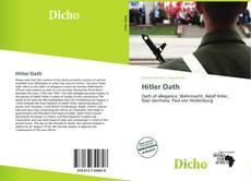 Hitler Oath kitap kapağı