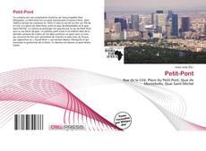 Portada del libro de Petit-Pont