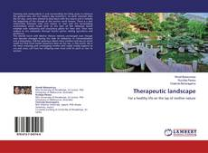 Capa do livro de Therapeutic landscape