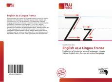 Bookcover of English as a Lingua Franca