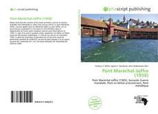 Обложка Pont Maréchal-Joffre (1958)