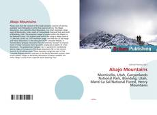 Bookcover of Abajo Mountains
