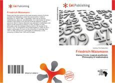 Friedrich Waismann kitap kapağı