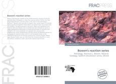 Buchcover von Bowen's reaction series