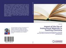 Capa do livro de Impact of the Use of Instructional Materials in Teaching Chemistry