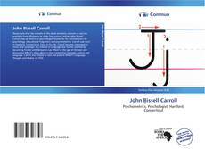 Bookcover of John Bissell Carroll