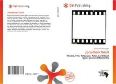 Couverture de Jonathan Cecil