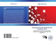 Portada del libro de Championnat du Salvador de Football 1974