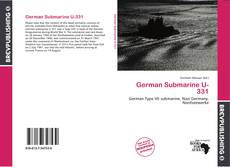 Bookcover of German Submarine U-331