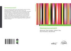 Bookcover of Homomonument