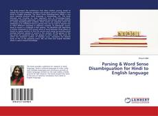 Buchcover von Parsing & Word Sense Disambiguation for Hindi to English language