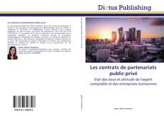 Bookcover of Les contrats de partenariats public-privé