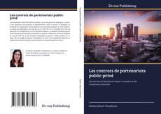 Les contrats de partenariats public-privé kitap kapağı