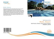 Blyth, Ontario kitap kapağı