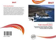 Buchcover von Folk classification