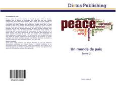 Un monde de paix的封面