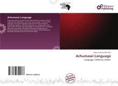 Couverture de Achumawi Language